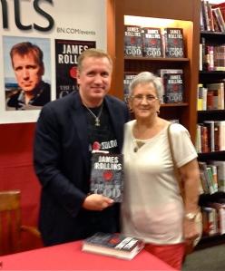 Linda with James Rollins